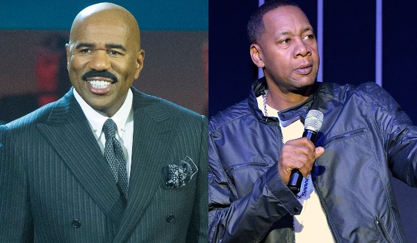 Steve Harvey and Mark Curry