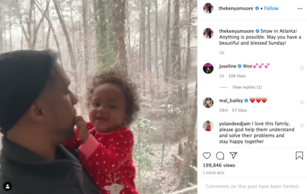 'Rooting for You Guys': Kenya Moore's Video of Marc Daly With Daughter Brooklyn Has Fan Hopeful for Their Marriage