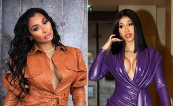 Cardi B Look Alike: 'Twinning': Fans Claim Cardi B And Karlie Redd Look Alike