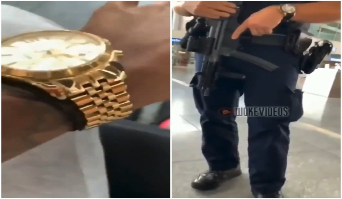 Video: Black Man Told By Officer He 'Looks Suspicious' for Wearing a 'Really Nice' Watch with Crocs