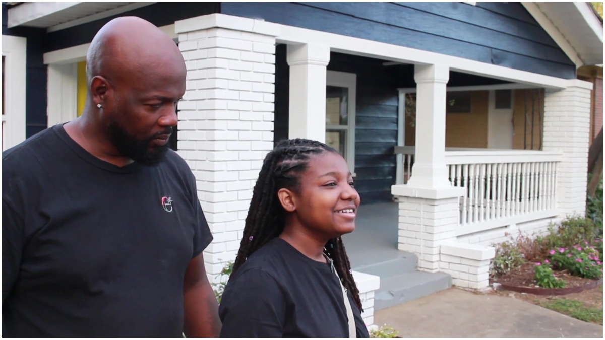 'Let's Prepare Them Early': Father Gifts 13-Year-Old Daughter a Home to Teach Her How to Build Wealth and Her Community