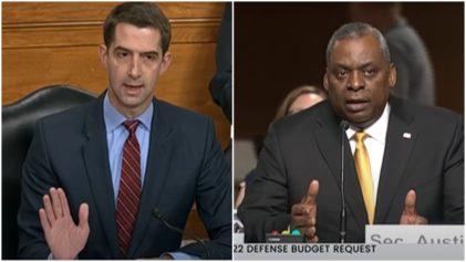 Senator Tom Cotton in heated back and forth with Defense Secretary Lloyd Austin